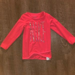 Nike tunic long sleeve shirt